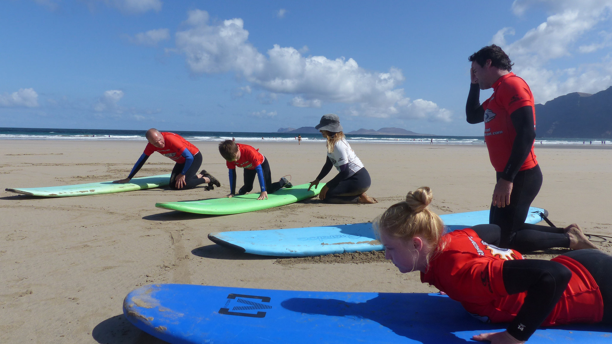 Image Article Spend your Christmas holidays practicing a different sport: Surfing in The Canary Islands!