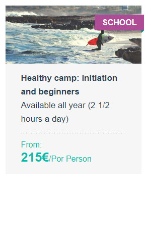 Healthy camp: Initiation and beginners