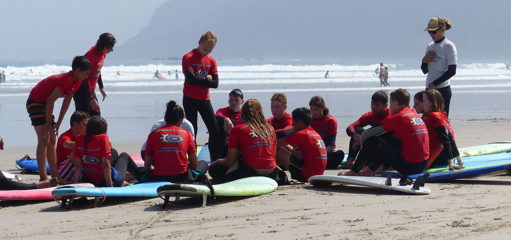 Image Program Beginners Surf Camp