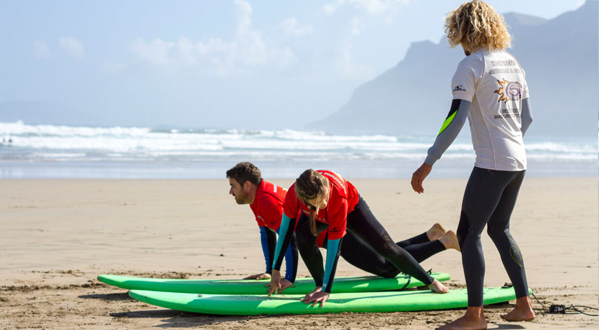 Image Article How to recover after a hard surf session.