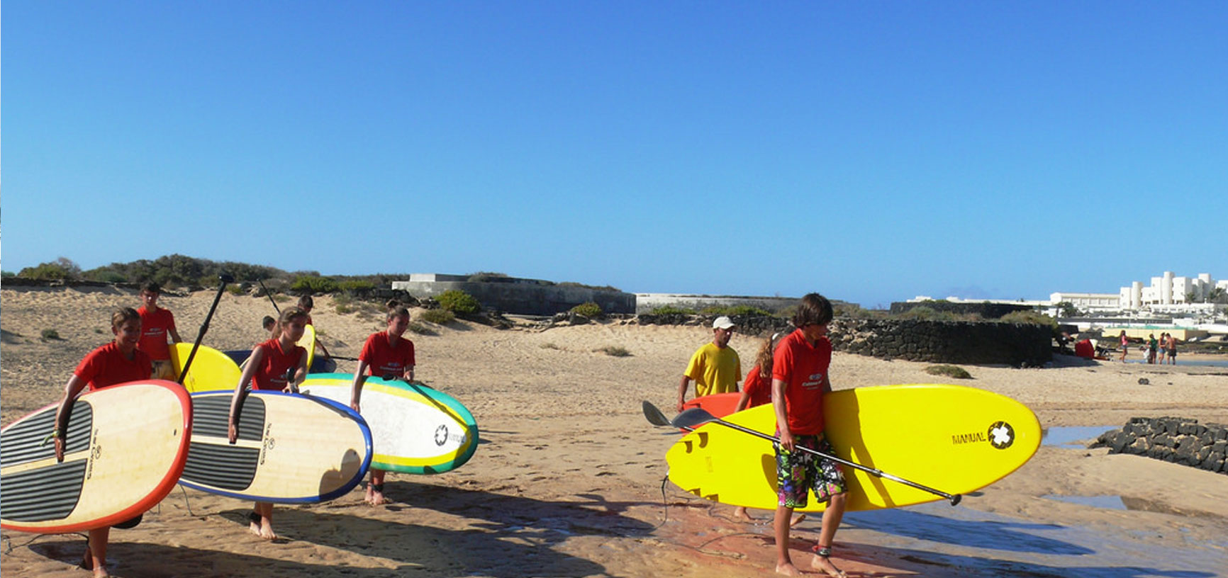 Image Program Surfing + Sup Camp in Lanzarote