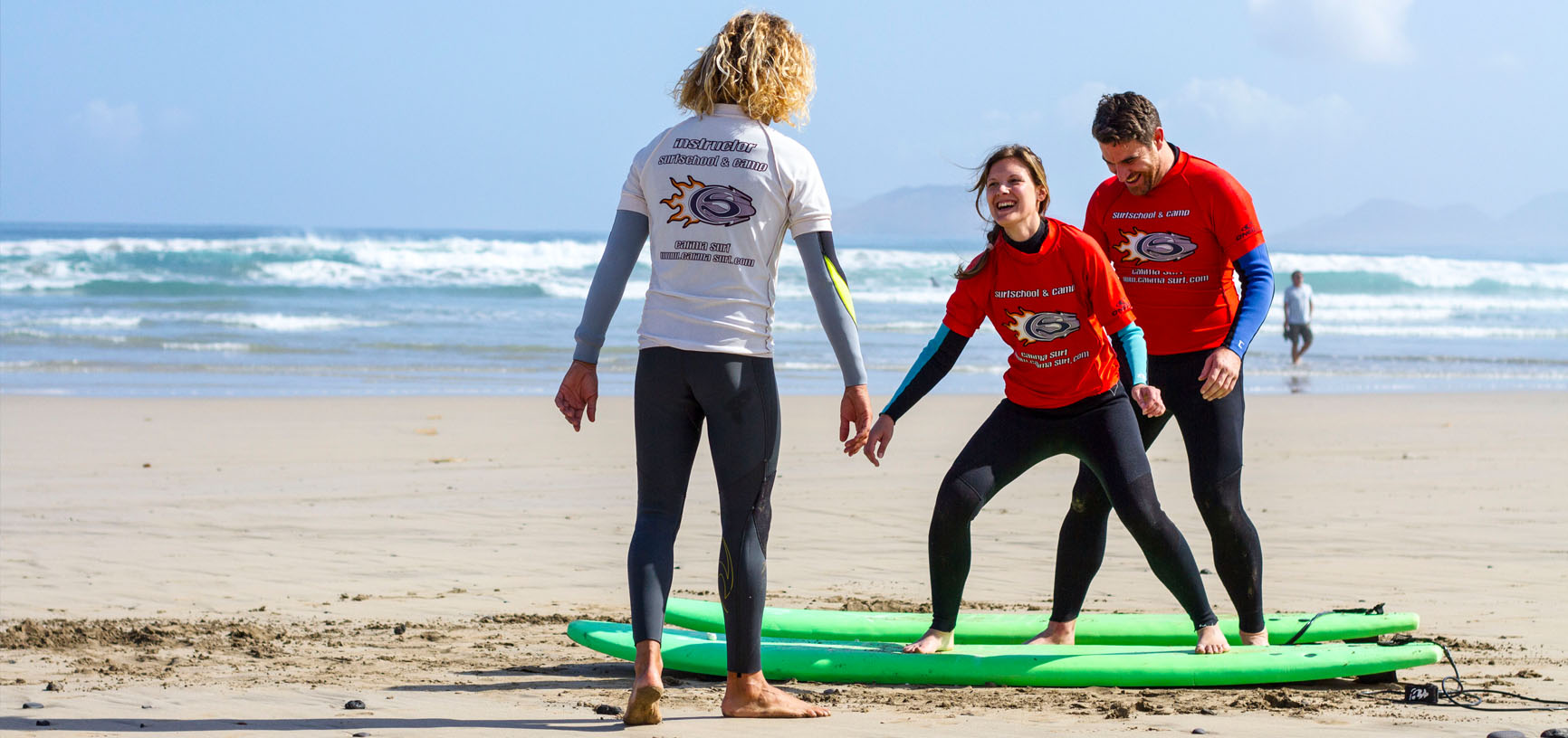Image Program Surf Camp for couples on the Canary Islands